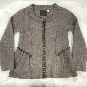 Anthropologie Guinevere Wool Cardigan Sweater